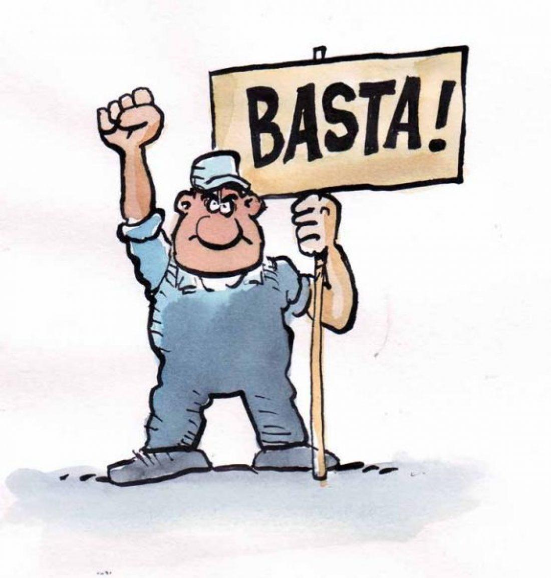 ¡No al ERE!. Huelga en Basi (Lacoste) el jueves 2 de mayo