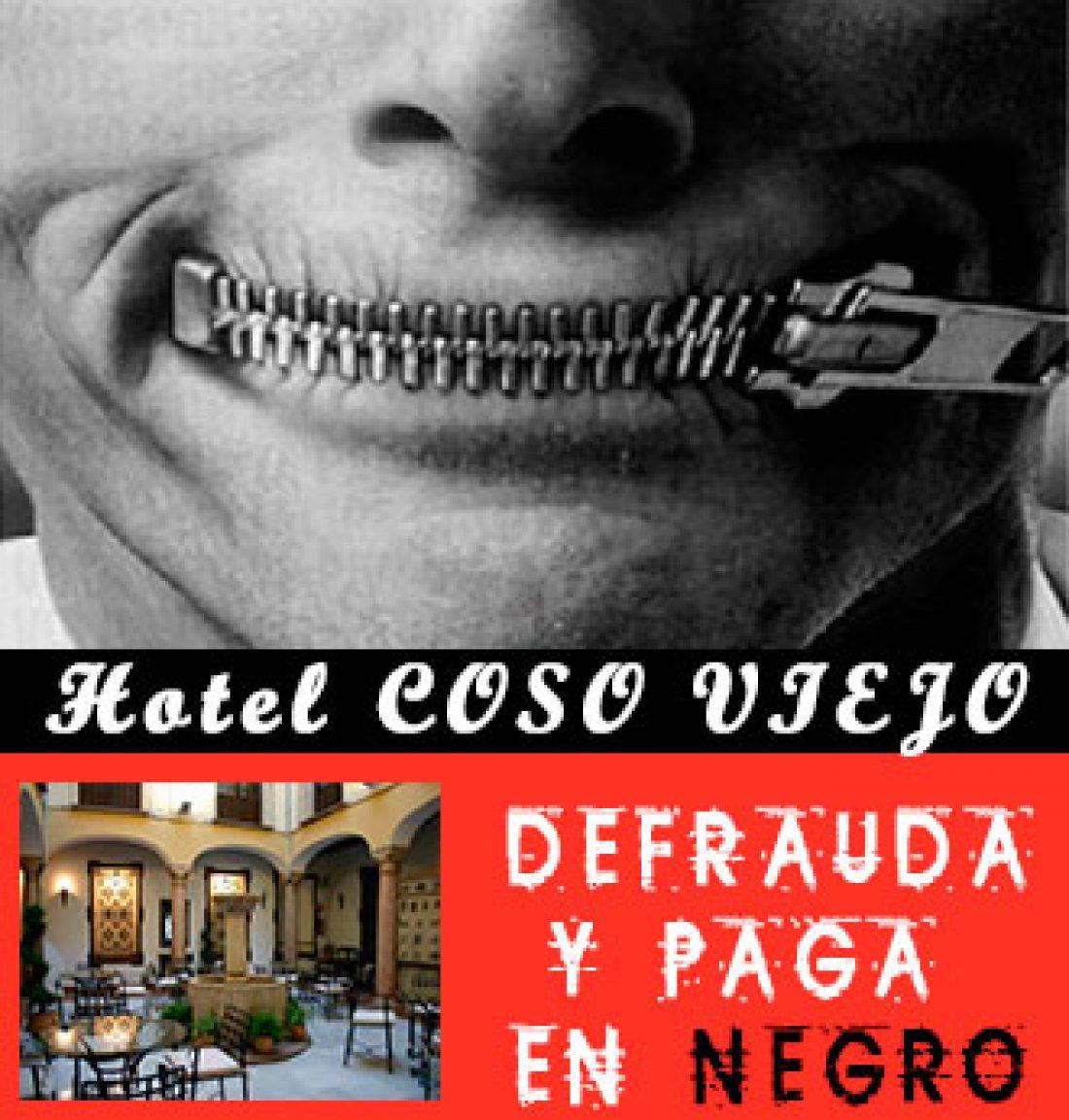 Isabel continua acampada ante el Hotel Coso Viejo tras la manifestacion del sabado 27