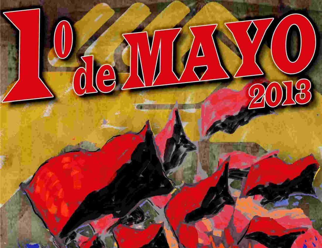 Actos y convocatorias 1 de mayo 2013