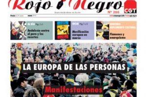 Rojo y Negro Nº 266 – marzo 2013