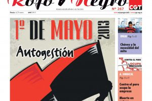 Rojo y Negro Nº 267 – abril 2013