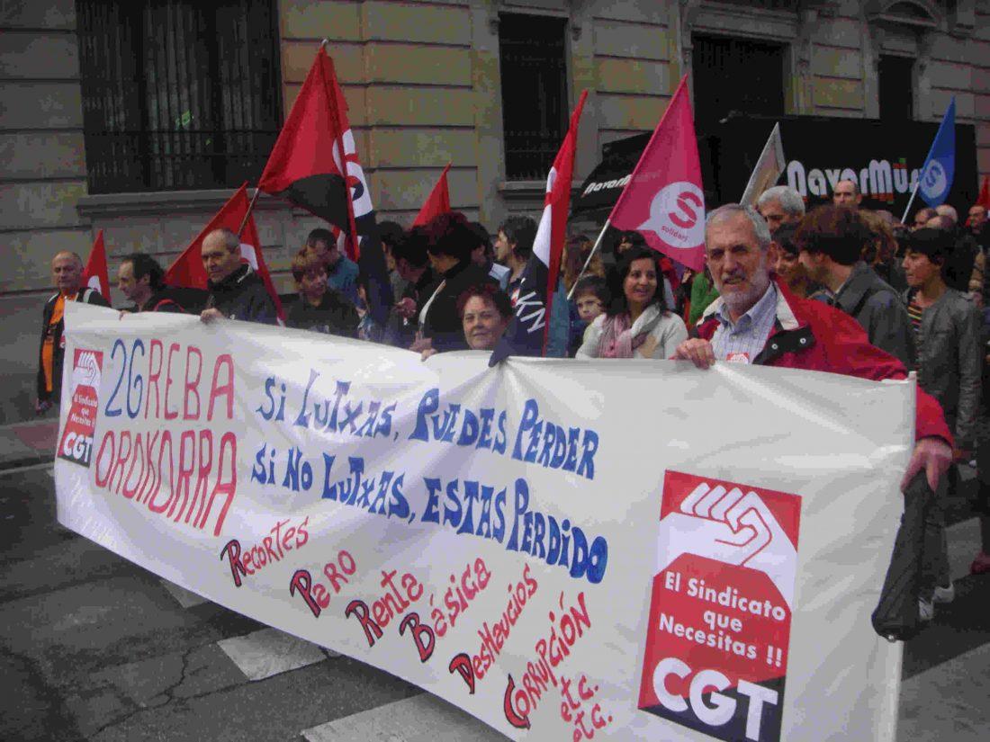 CGT convoca huelga general el 30 de mayo en Euskadi