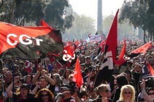 CGT Barcelona. Actos de apoyo ante los juicios por las movilizaciones de la Huelga General 29-M