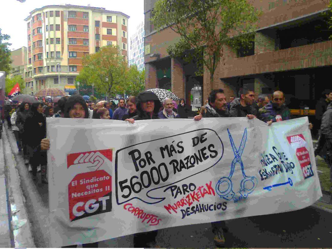 Huelga General 30-M, Iruñea