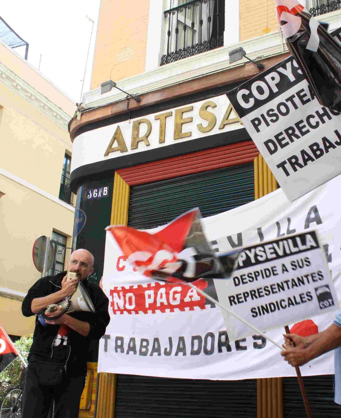 Copysevilla: ERE, despidos, chanchullos empresariales y represión sindical