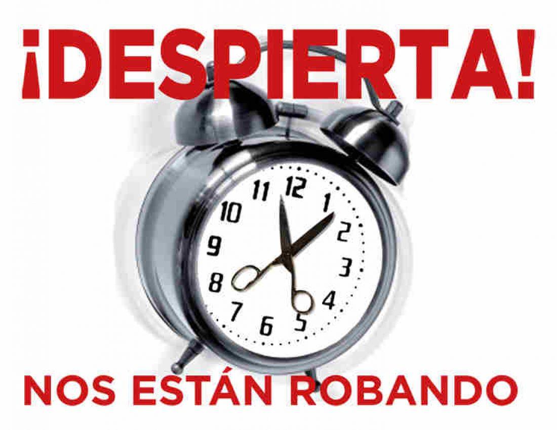 Campaña en defensa de los servicios públicos de la CGT de Burgos