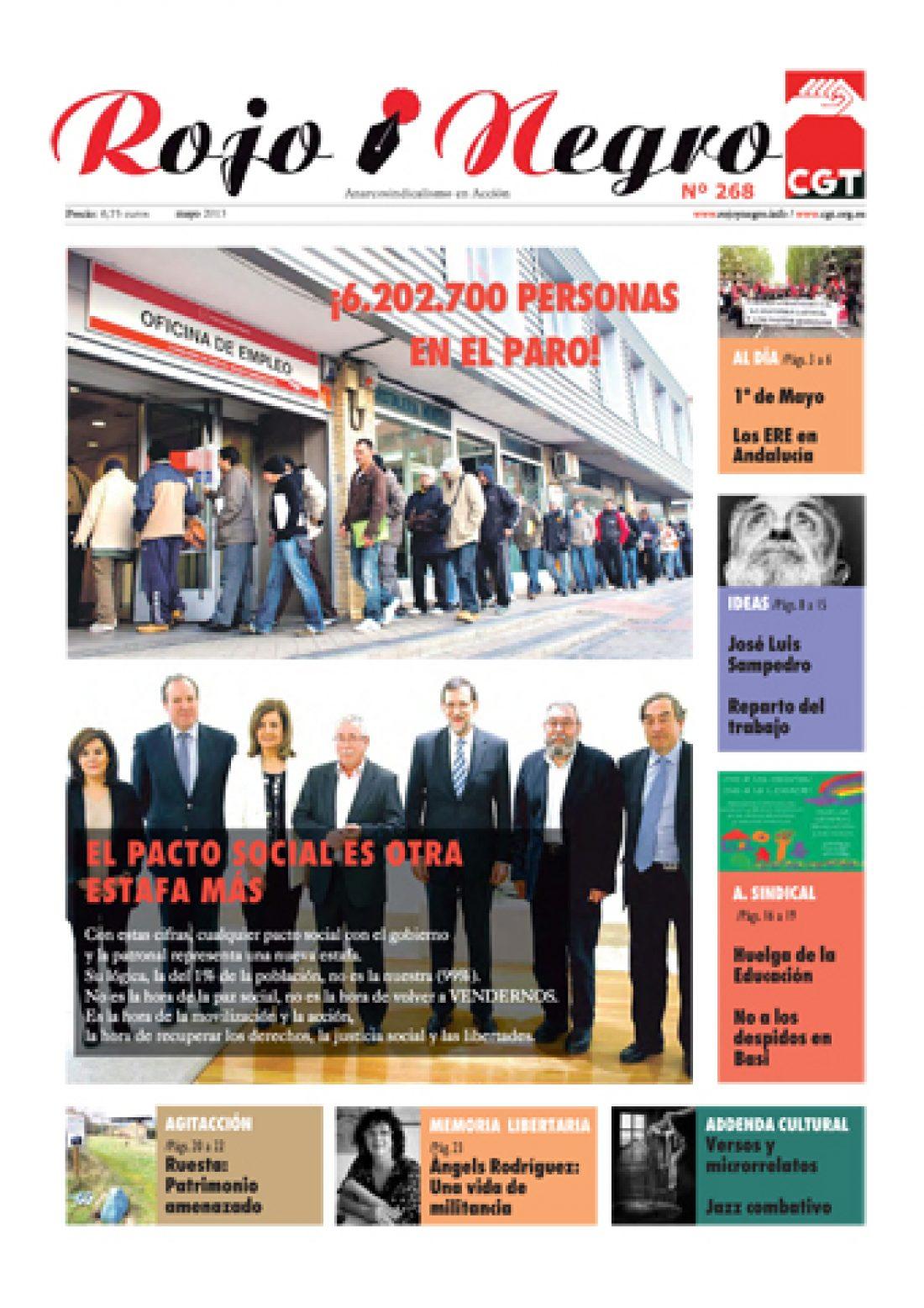 Rojo y Negro Nº 268 – mayo 2013