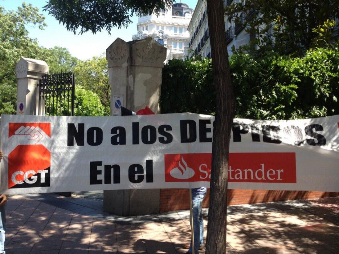 Banco Santander: Acuerdo laboral de fusión, comienzan los despidos