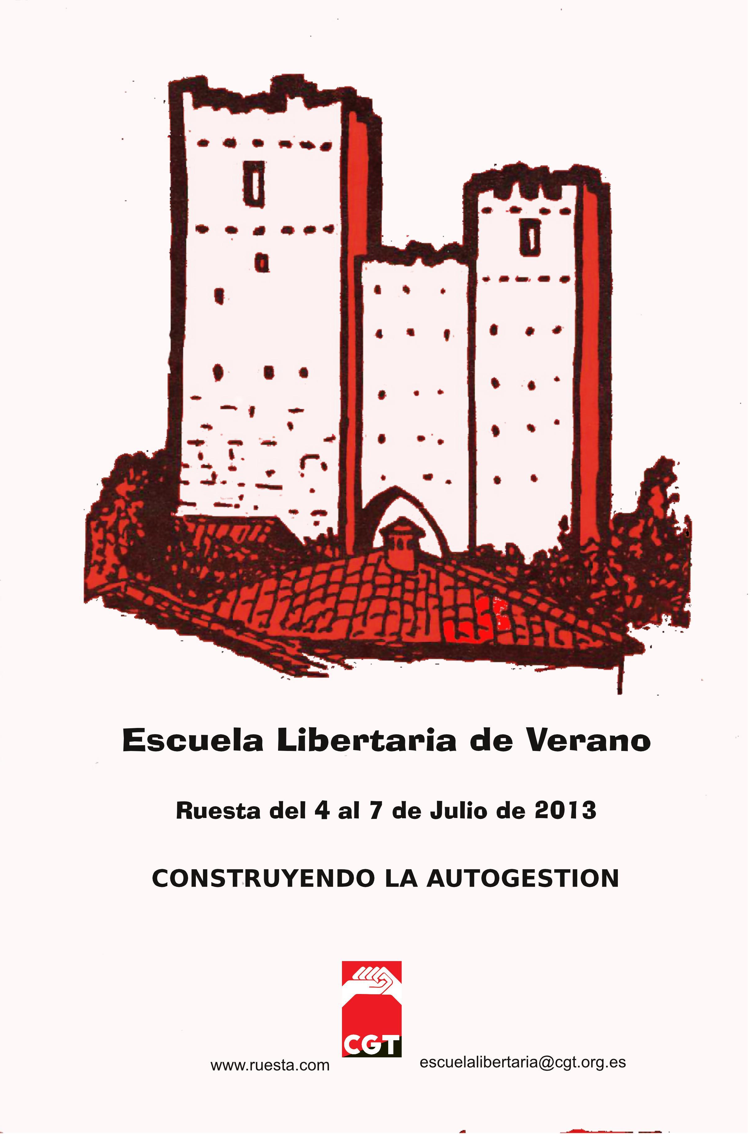 Escuela Libertaria de verano 2013