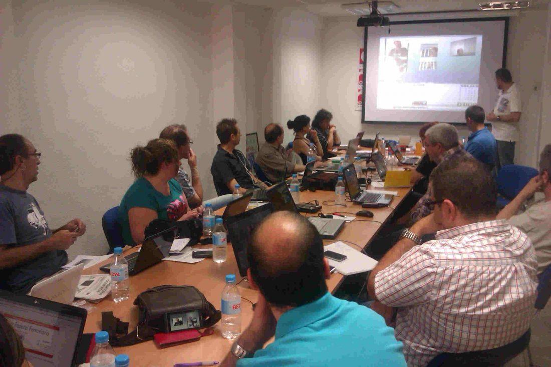 Celebrado el curso de la Escuela Confederal de Formación sobre videoconferencia