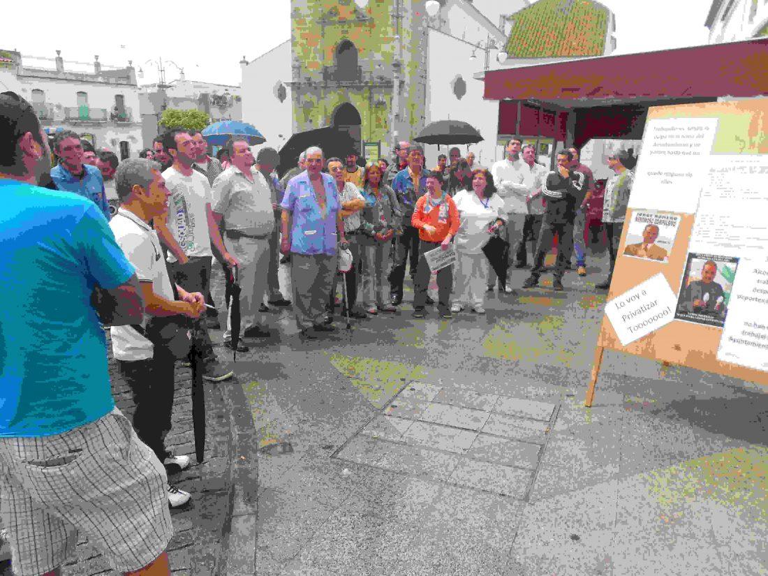 CGT exige el cumplimiento de la ley al Alcade de Los Barrios