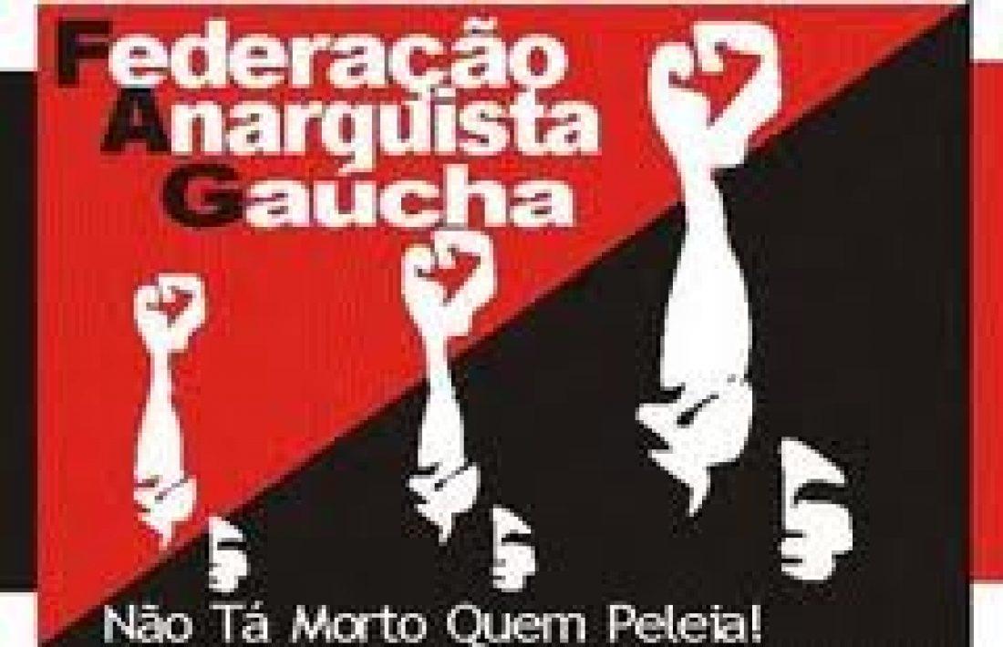 Porto Alegre, Brasil. La Polícia Federal invade la sede de la Federação Anarquista Gaúcha – FAG
