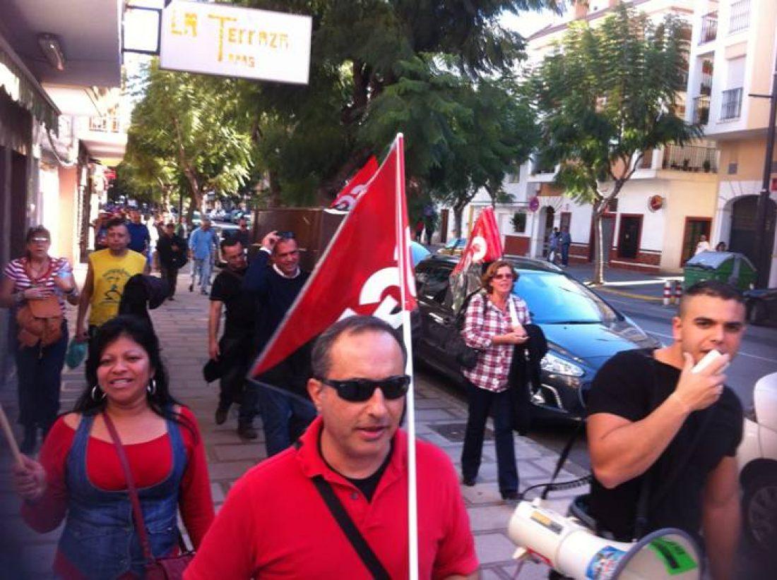 Constituida Sección Sindical de CGT en el servicio de limpieza del Hospital Costa del Sol, Marbella