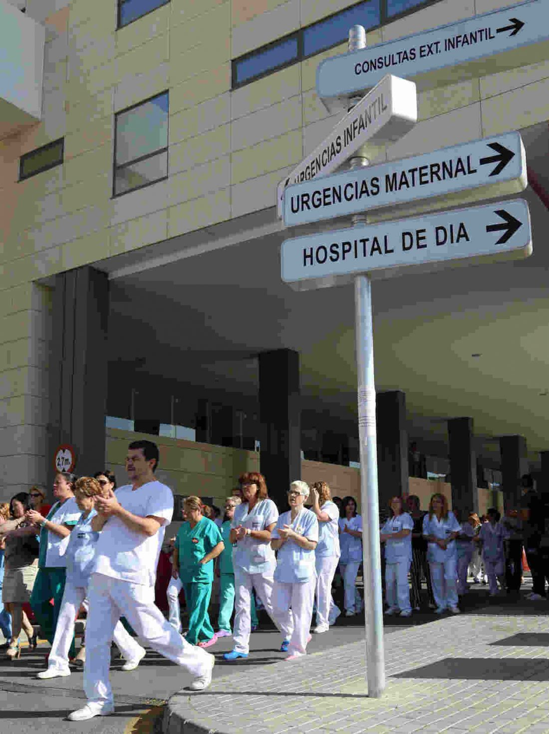 Desde la CGT se responsabiliza a Valoriza (SACYR) y al Servicio Murciano de Salud del cierre de quirófanos en La Arrixaca