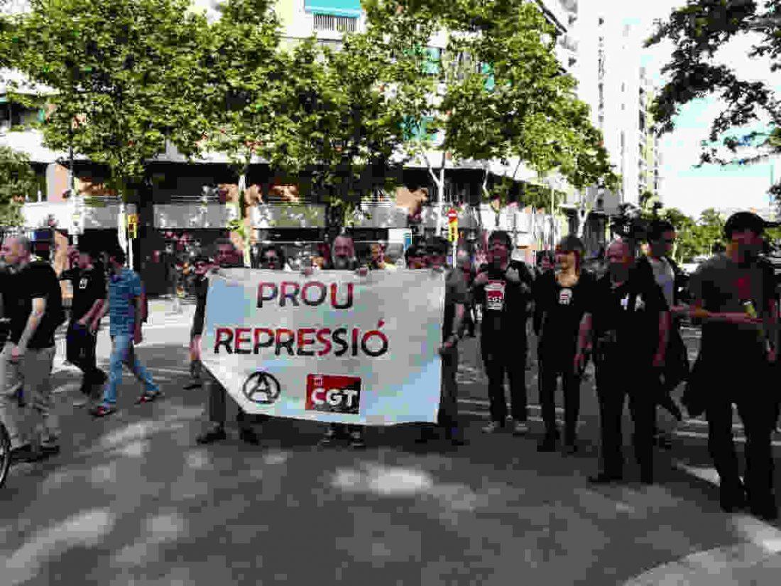 Manifestación el 1 de junio en solidaridad con lxs encausados del Barrio del Clot por la HG 29-S