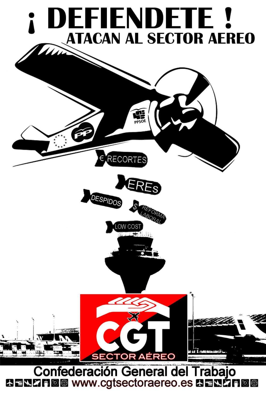 Huelga en Barcelona y otros aeropuertos de la empresa Swissport Handling