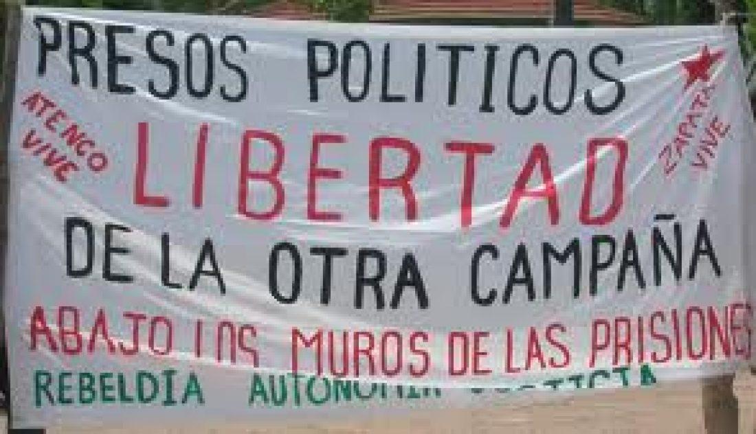 Desde Europa: Solidaridad con Álvaro Sebastián Ramírez y los 6 presos Loxicha