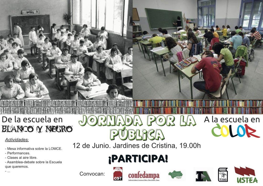 Concentración en Sevilla contra los recortes educativos