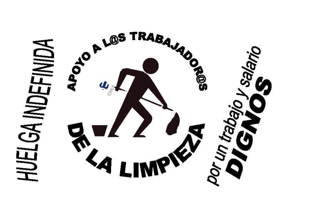 Limpiezas Sanitarias de Aragón en Zaragoza, 11 días en huelga.