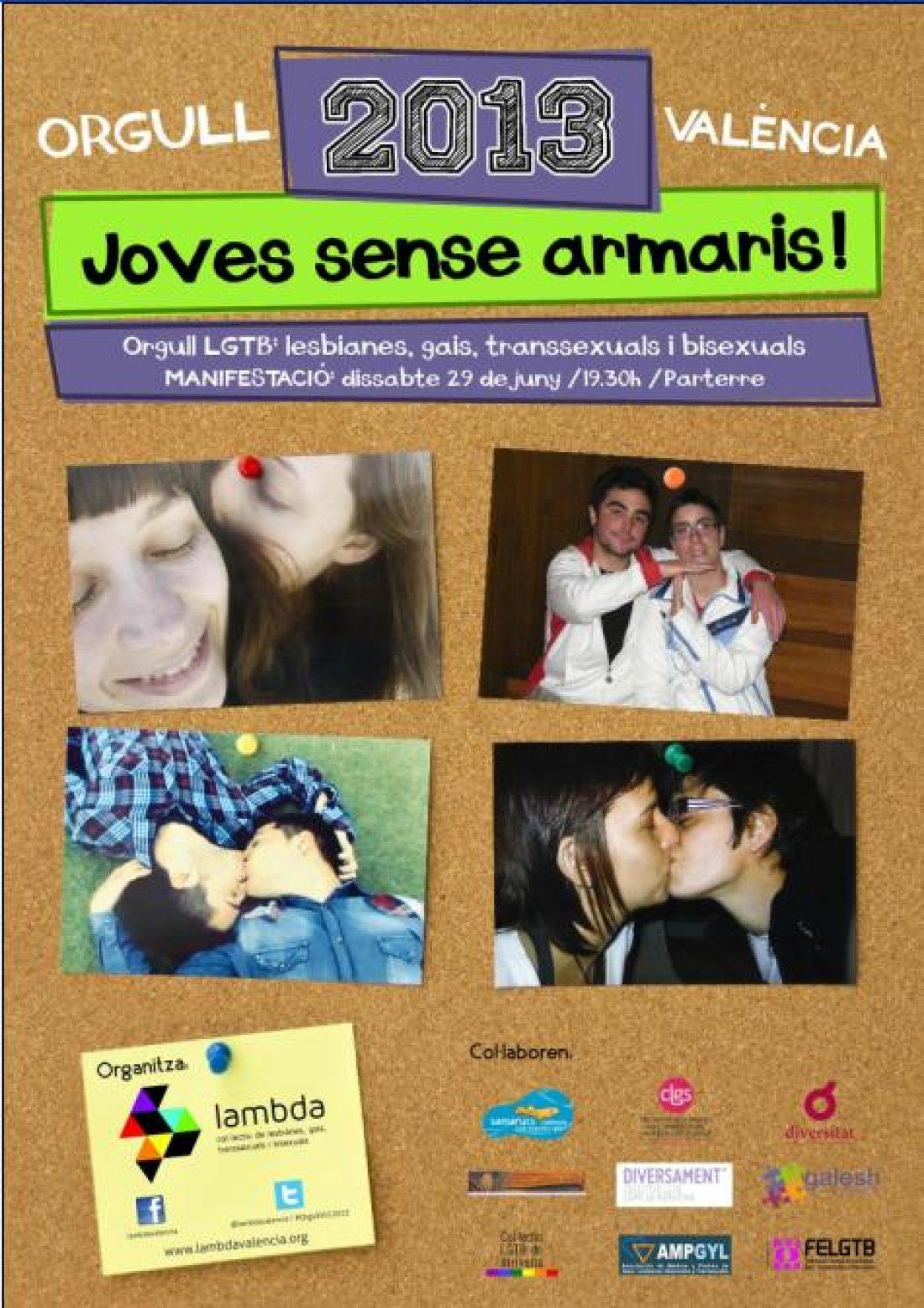 Llamada de la CGT-PV y Murcia a participar en el Orgullo LGTB 2013