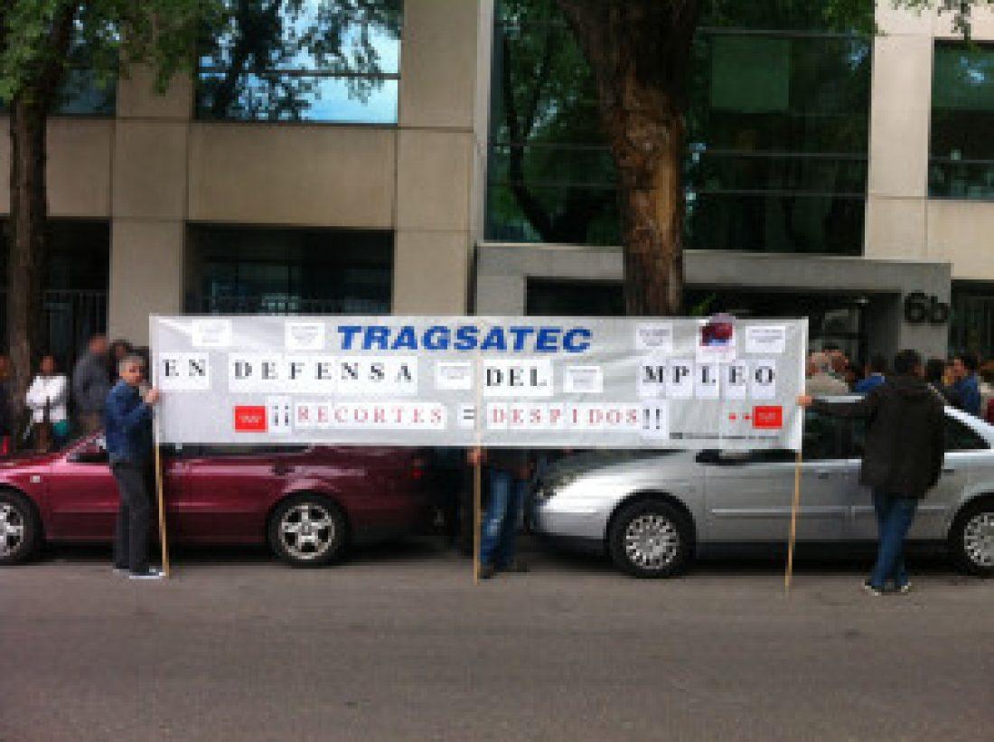 Continúan las parada durante el descanso contra el ERE en Tragsatec