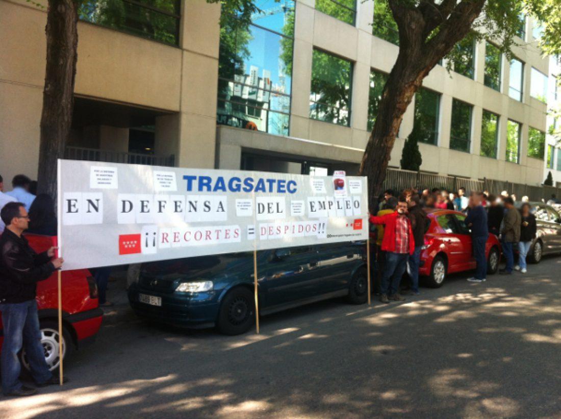 Lxs trabajadorxs de Tragsatec continúan la lucha contra el ERE