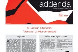 Addenda, suplemento cultural del RyN – Nº 4, junio 2013