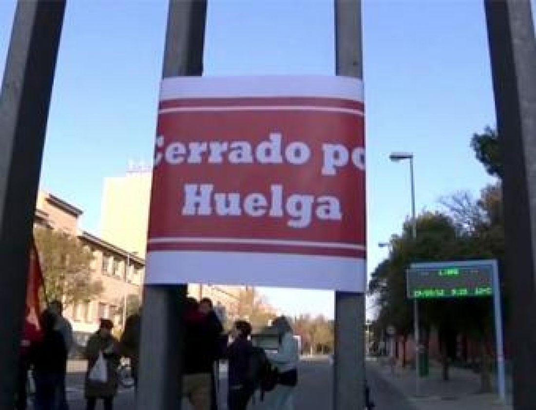 Solidaridad con la huelga de Limpiezas Sanitarias de Aragón