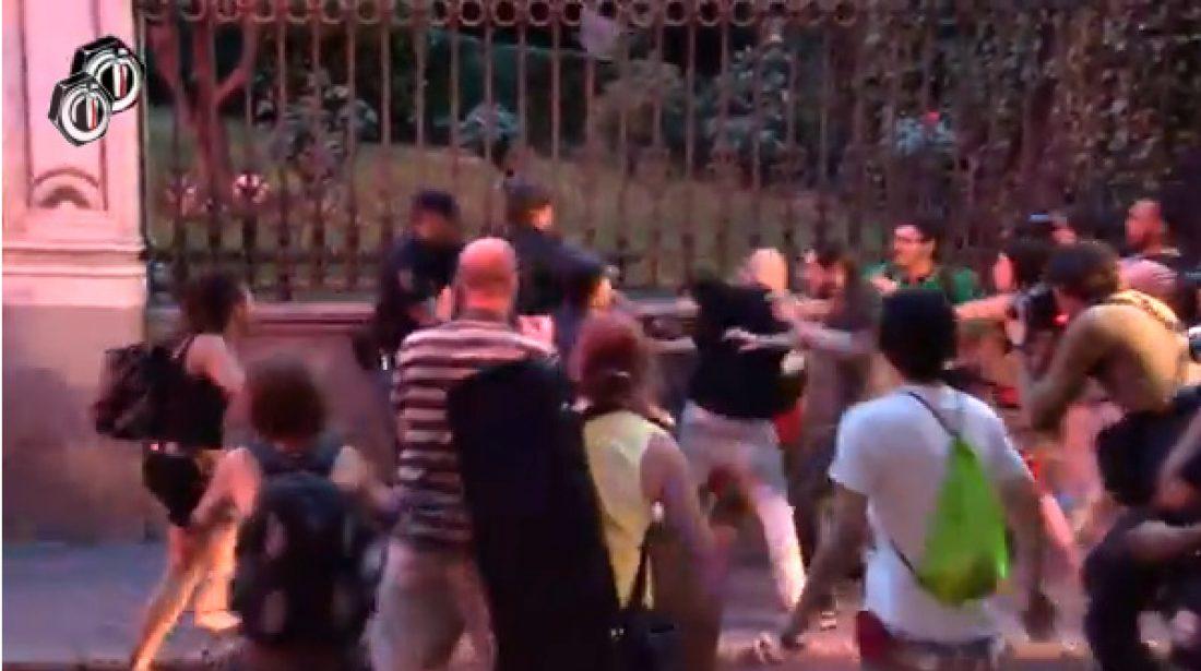 Puesto en libertad el compañero detenido tras la brutal acción de la policia en la protesta frente al Ministerio de Sanidad