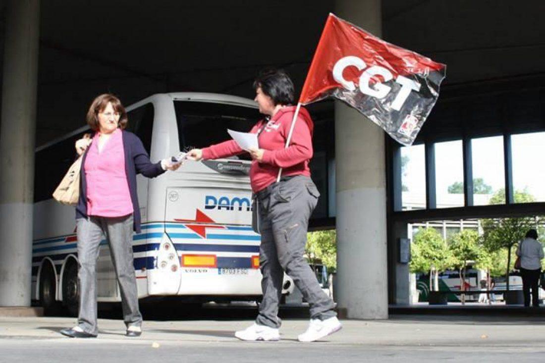 Solidaridad con lxs despedidxs en autocares Damas