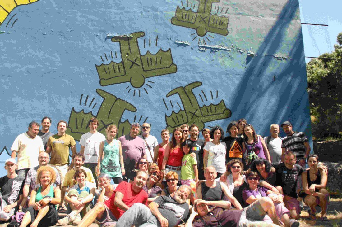Escuela Libertaria de Verano de CGT en Ruesta. Crónica del sábado y domingo