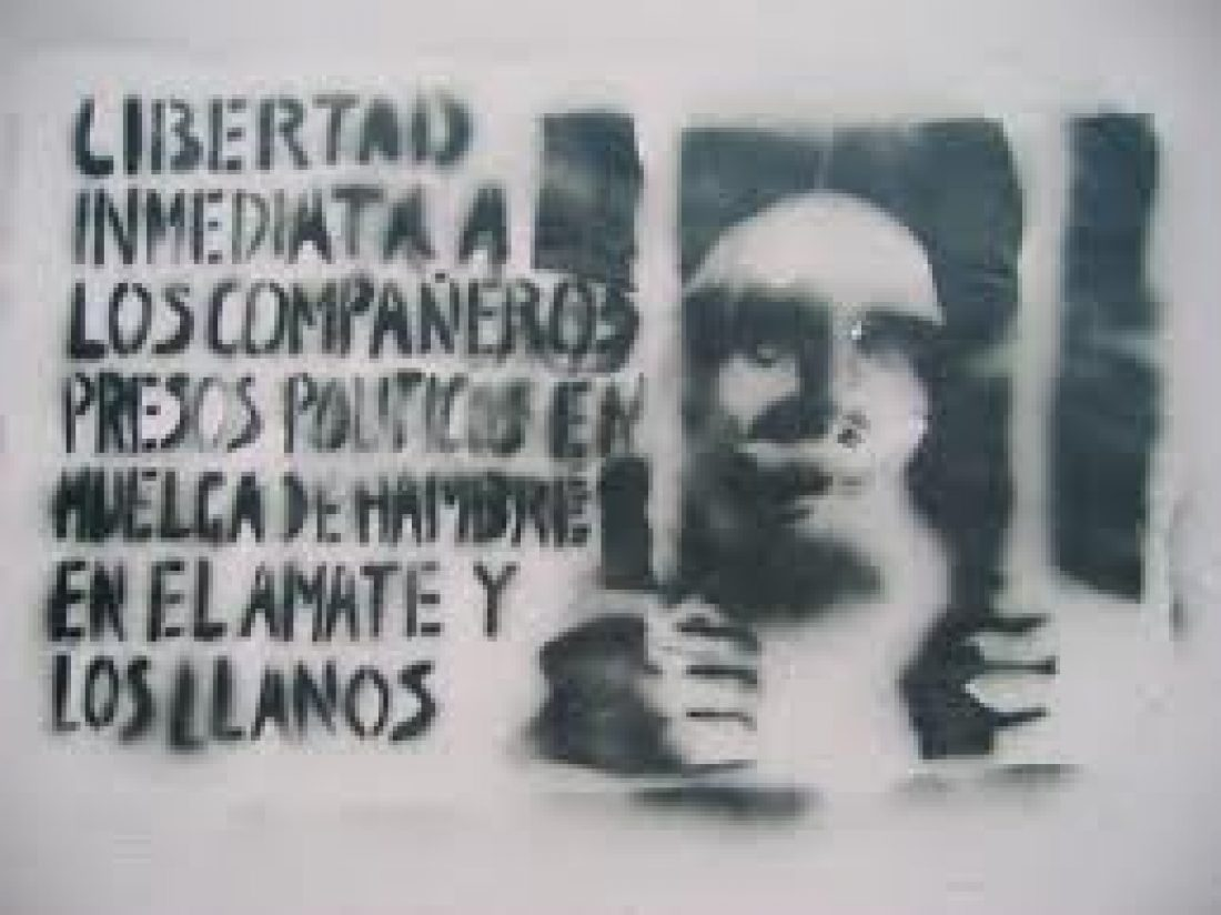 Conferencia de prensa de los Solidarios de la Voz del Amate tras su liberación