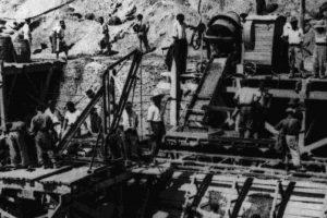 Homenaje de la CGT a los presos y presas del franquismo que trabajaron en la construcción del Embalse de Yesa y otros pantanos