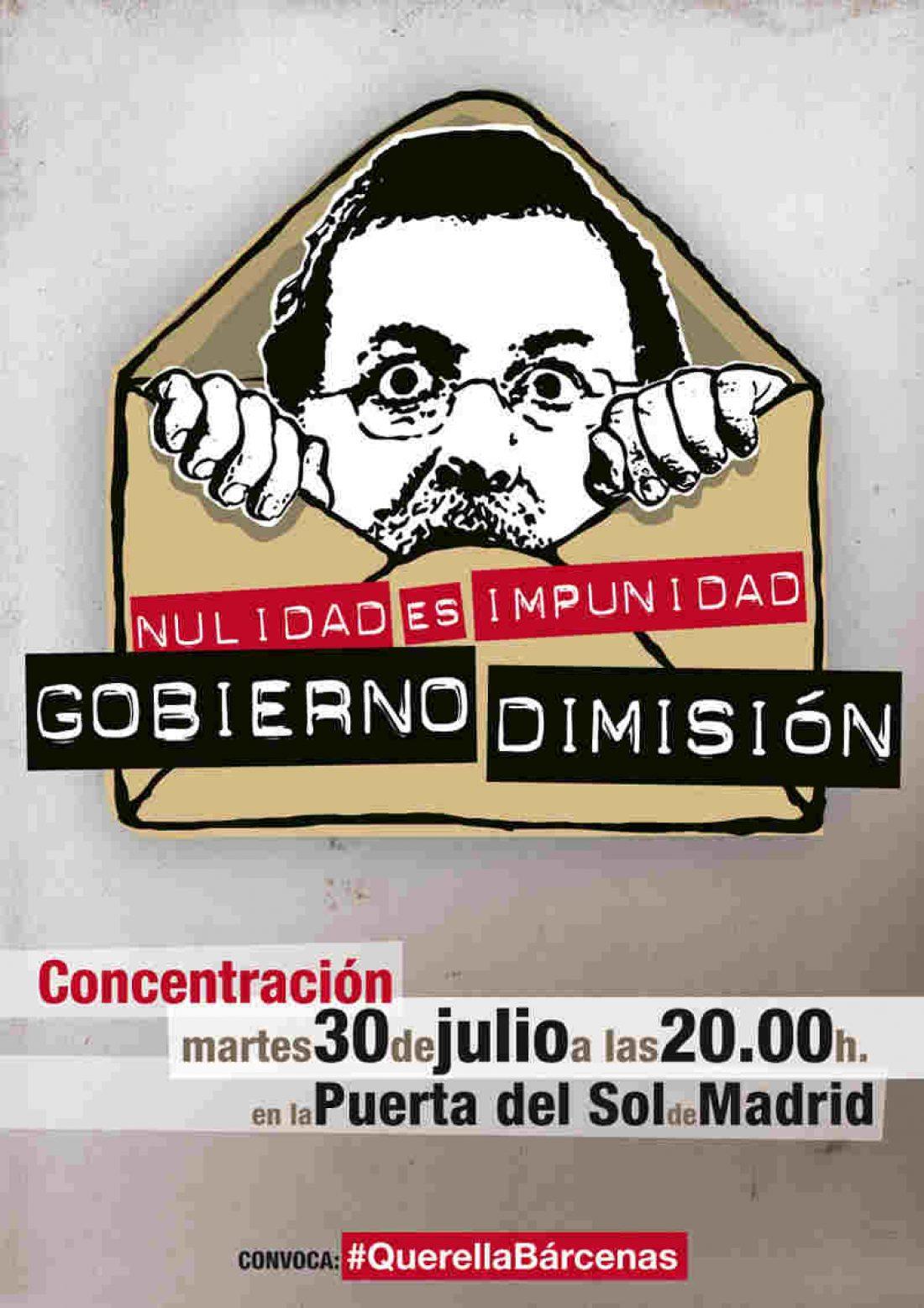 Concentración 30J a las 20 horas en la Puerta del Sol contra la impunidad