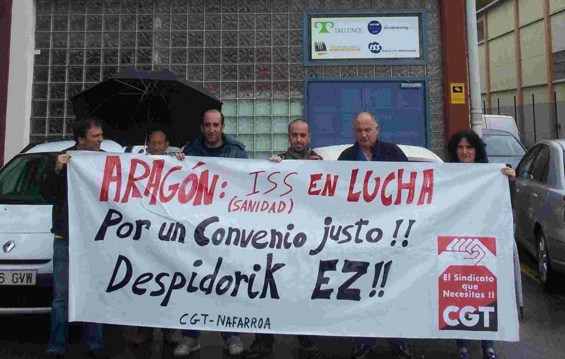 ¡Si se puede! Ganada la huelga indefinida de la plantilla de Limpiezas Sanitarias de Aragón