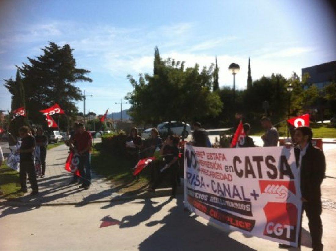 Huelgas en CATSA (Canal+) en el inicio de la liga de futbol
