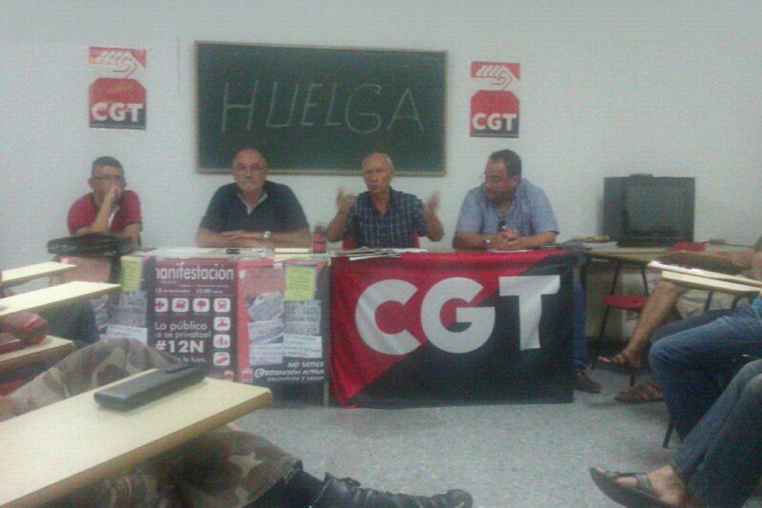 CGT Metal Campo de Gibraltar: convocatorias de huelga indefinida en las contratas de Acerinox y la concentración en San Roque