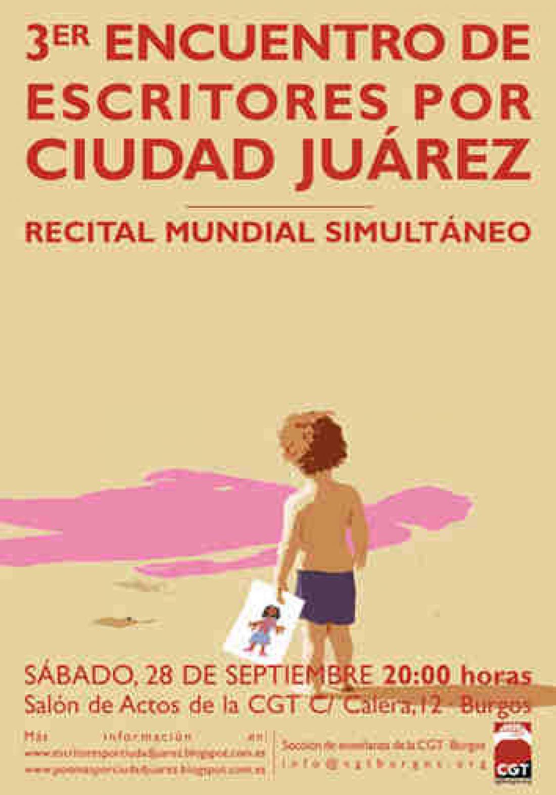 Burgos. III Encuentro de Escritores por Ciudad Juárez