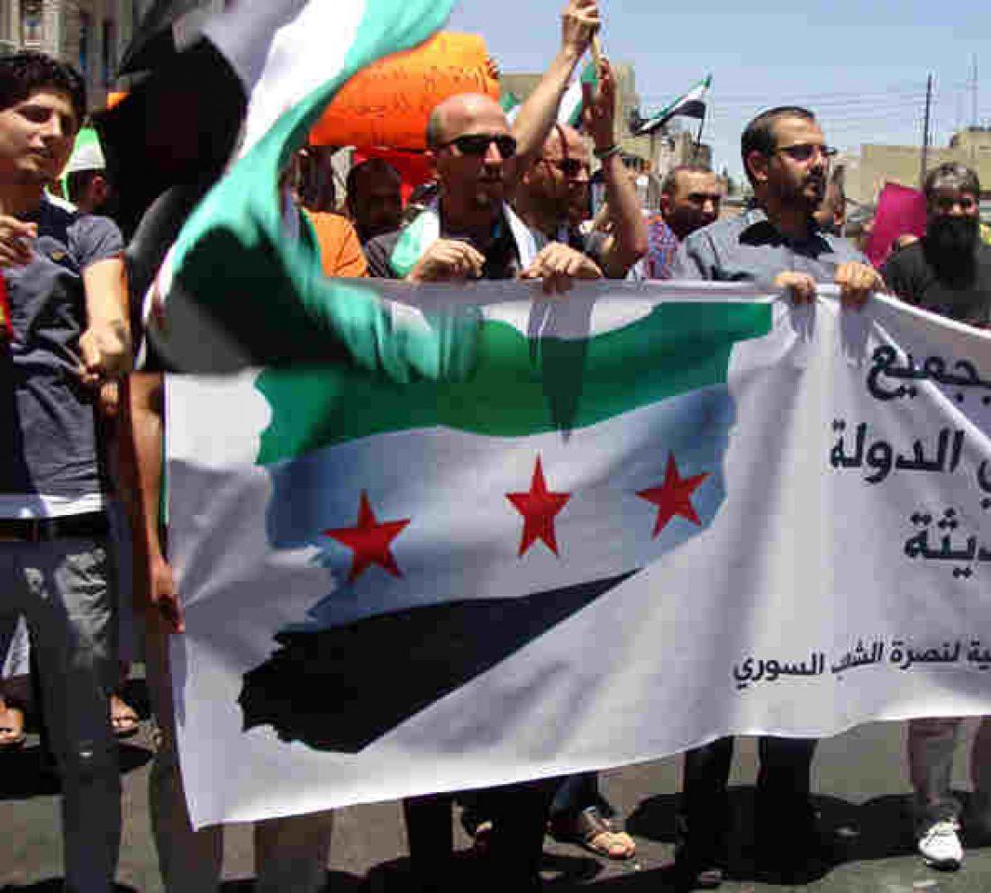 No a la Intervención Militar de EEUU y sus aliados en Siria