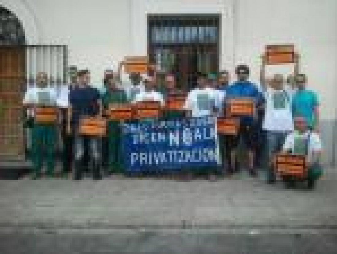 25-S concentración en apoyo a compañeros sancionados en el Ayuntamiento de Villaviciosa de Odón