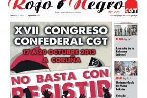 Rojo y Negro Nº 271 – septiembre 2013