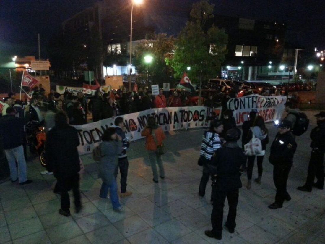 Protesta en Konecta por el despido de Amaya