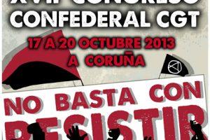 CGT celebrará su XVII Congreso Confederal en A Coruña
