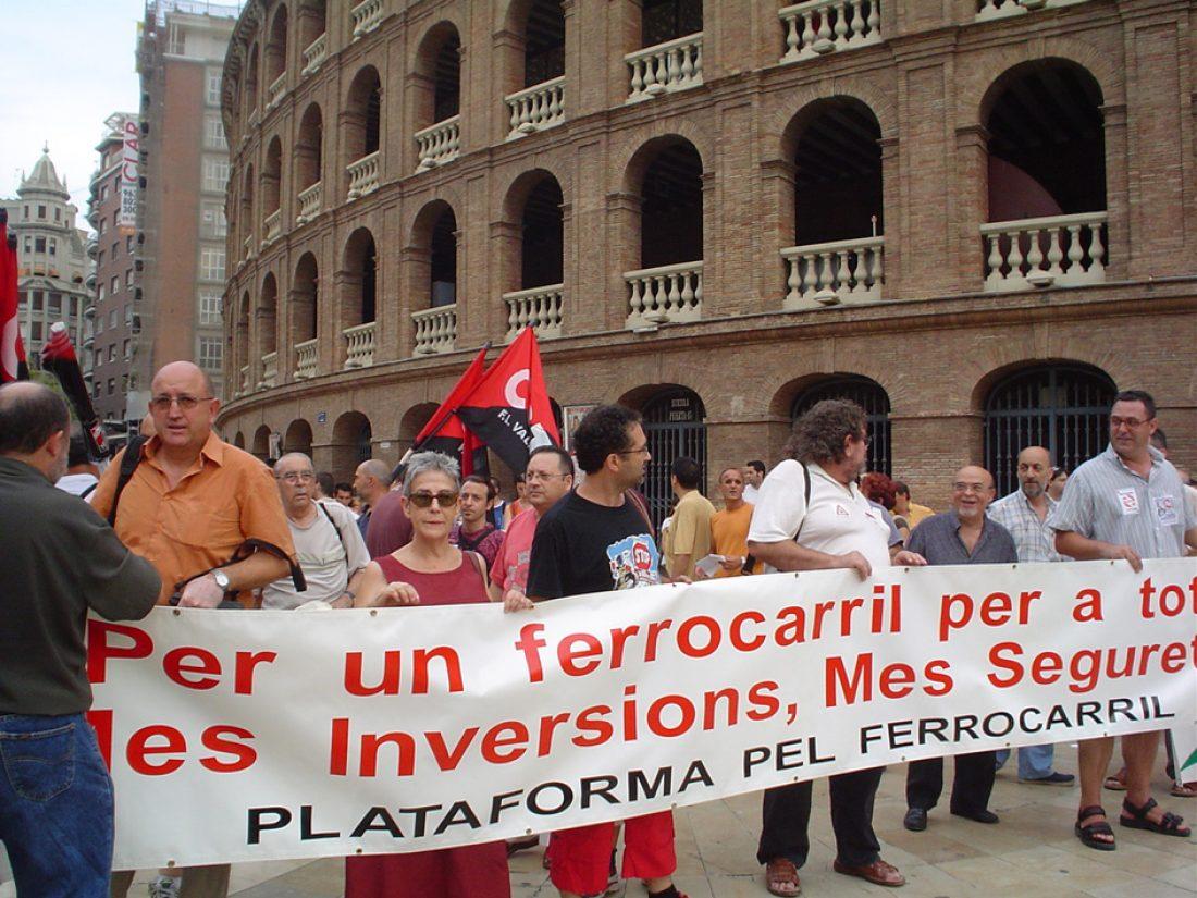 Huelgas y movilizaciones en el Sector Ferroviario del País Valenciano