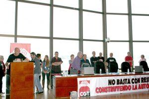 Finaliza el XVII Congreso de la Confederación General del Trabajo celebrado en A Coruña