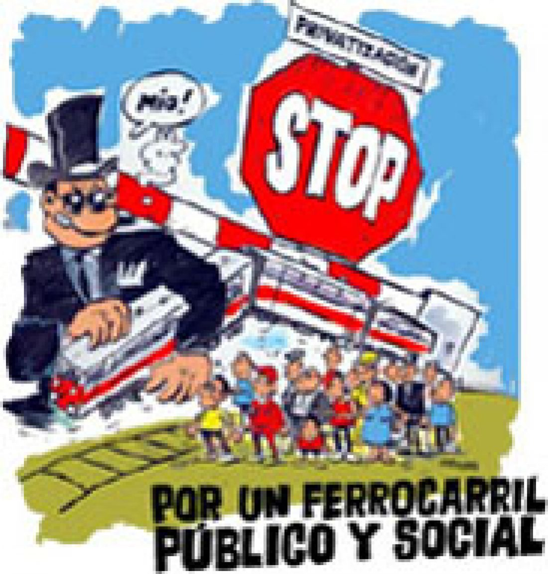 Movilizaciones en la jornada de huelga en el sector Ferroviario 31 octubre