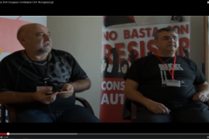 Videos XVII Congreso Confederal CGT