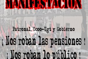 CGT se manifestara con el Bloque Unitario el 23N en Madrid