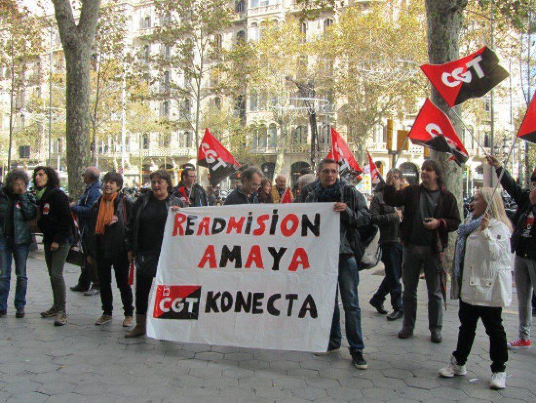 Fotos: Concentración en Barcelona en Apoyo de Amaya