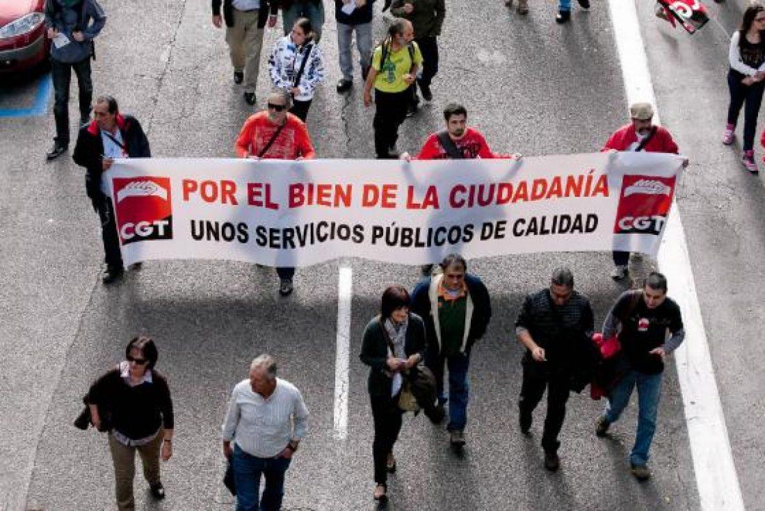 """CGT se manifestará en Málaga el sábado 23 de noviembre """"Por la Dignidad de la Clase Trabajadora"""""""